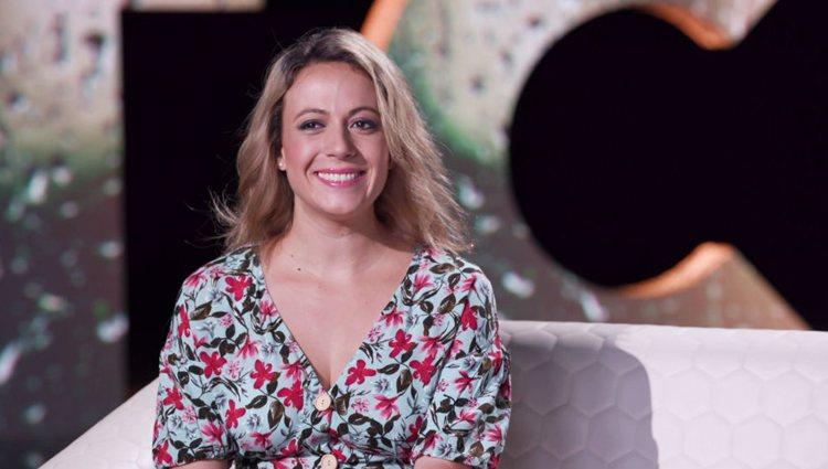 María, durante su vídeo de presentación en el programa