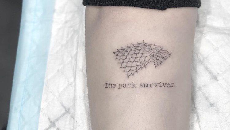 El tatuaje de la actriz inglesa hizo pensar a muchos fans que era una confesión sobre el final de la serie - Instagram
