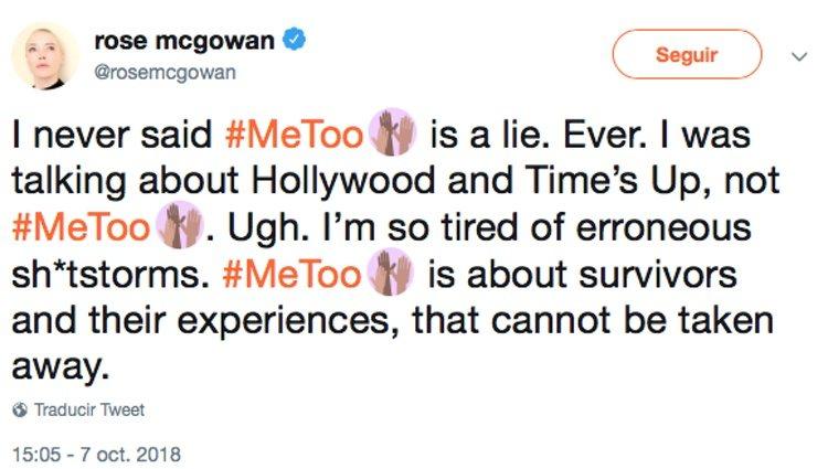 La activista aclaró a través de su cuenta sus polémicas declaraciones publicadas recientemente - Twitter