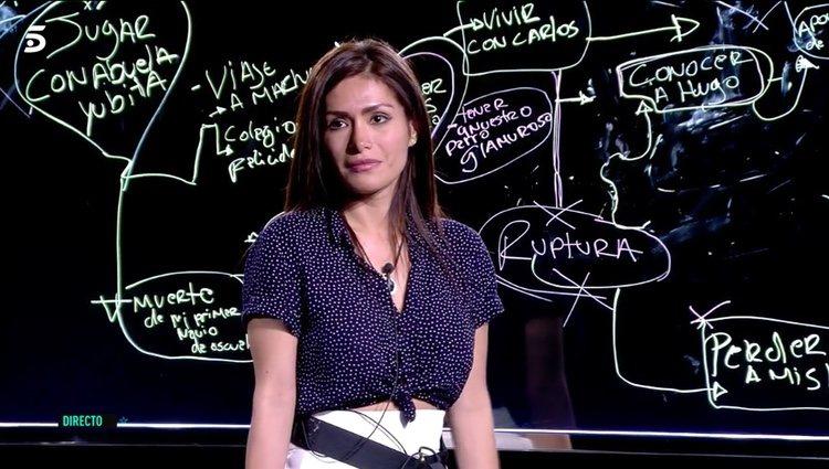 Miriam Saavedra con su 'curva de la vida' / Foto: Telecinco.es