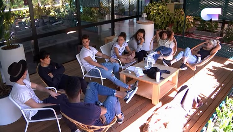 Los chicos de 'OT 2018' hablando de las agresiones machistas / RTVE.es