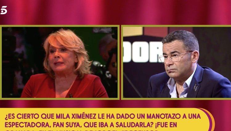 Mila Ximénez escuchó cómo una fan se mostró decepcionada ante su actitud con ella - Telecinco.es