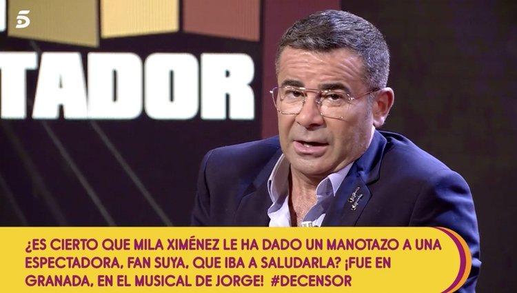 El presentador quiso explicar el comportamiento de su compañera y apoyarla - Telecinco.es