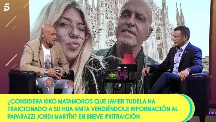 Kiko Matamoros hablando de Javier Tudela / Foto: Telecinco.es