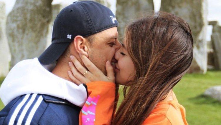 Javier Hernández y Sarah Kohan | Foto: Instagram Sarah Kohan