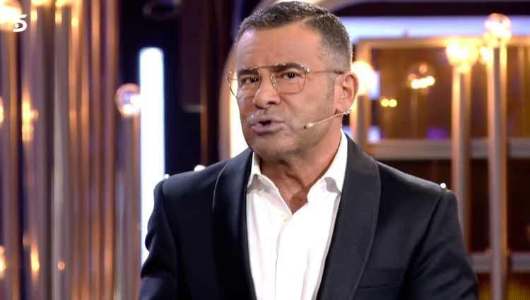 Jorge Javier Vázquez poniendo orden en el plató / Telecinco.es