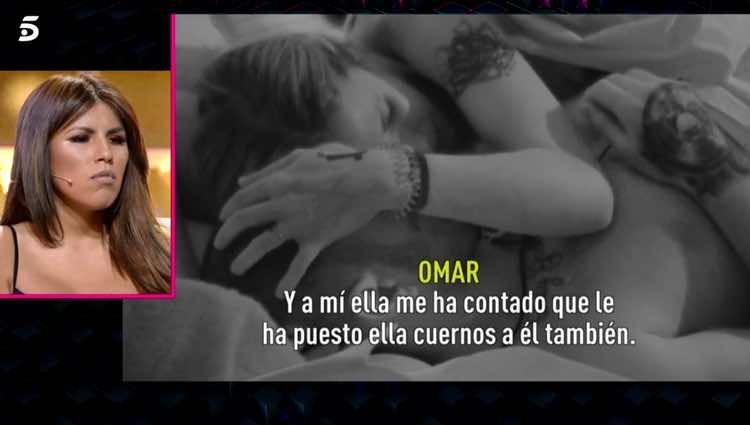 Techi y Omar hablando de Alberto Isla / Telecinco.es
