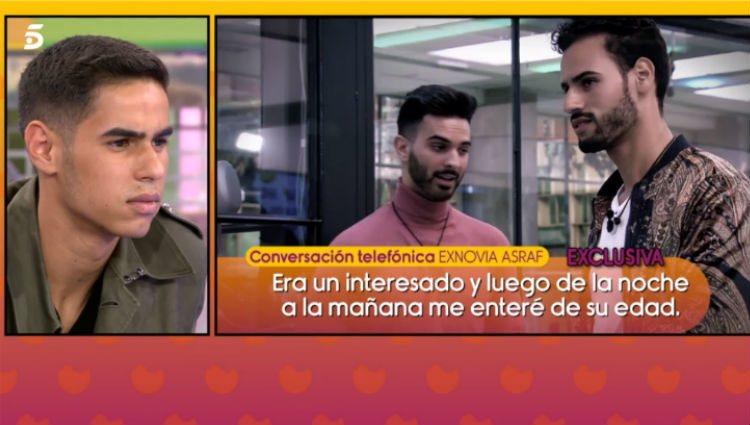 La novia de Asraf cuenta sus secretos:/Foto:telecinco.es