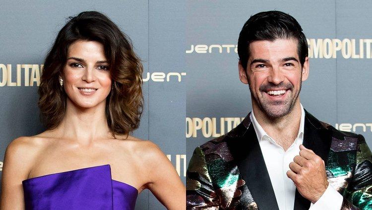 Clara Lago y Miguel Ángel Muño en los Premios Cosmopolitan 2018