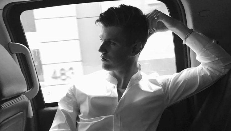 El actor es uno de los protagonistas de 'Élite', la nueva serie de Netflix - Instagram