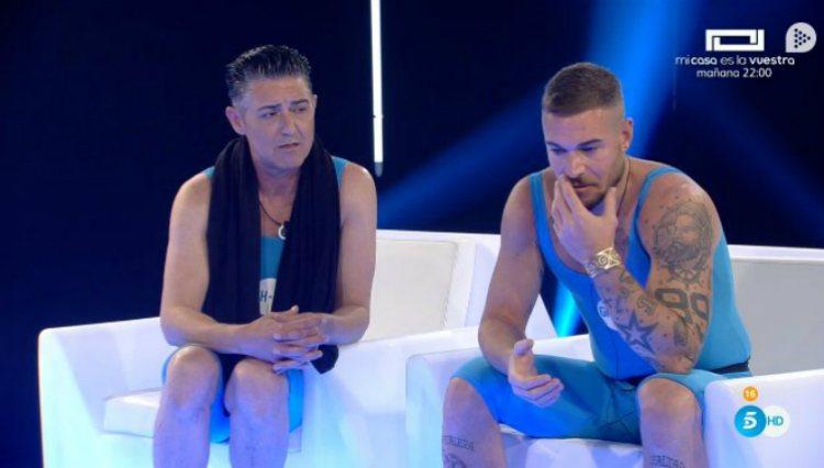 Ángel y Tony son los únicos testigos de las nominaciones de sus compañeros   telecinco.es