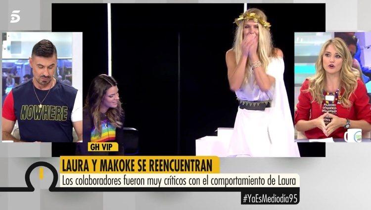 Alba Carrillo en el programa 'Ya Es Mediodía' habla sobre el encuentro de Makoke y Laura Matamoros / Fuente: telecinco.es