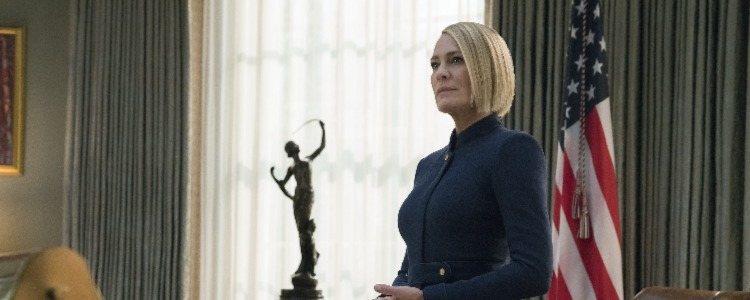 Claire Underwood protagoniza la última temporada de 'House of Cards'