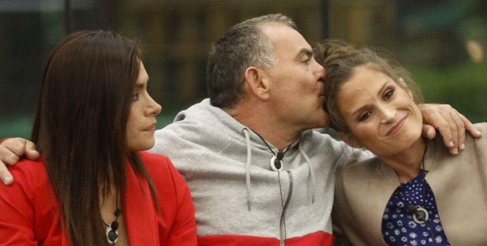 Verdeliss junto a Miriam y Koala el día de su expulsión / Telecinco.es