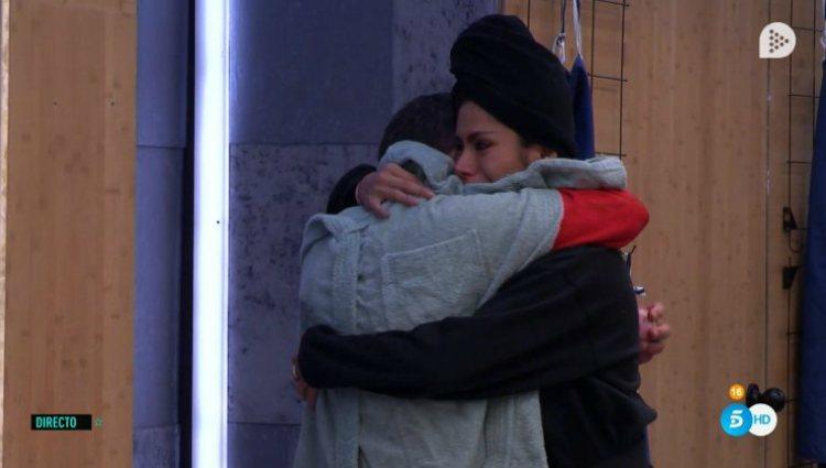 El Koala consuela a Miriam tras decirle que han echado a Verdeliss | telecinco.es