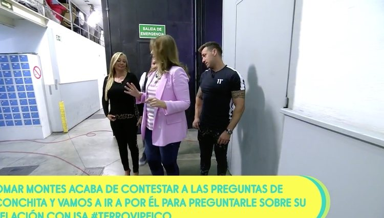 Rafa Mora impresionado con el culo de Belén Esteban en 'Sálvame'