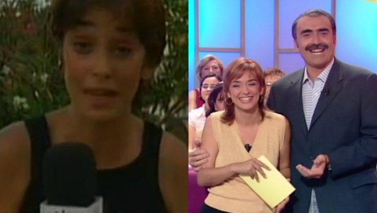Los inicios de Toñi Monero como reportera y presentadora en Canal Sur