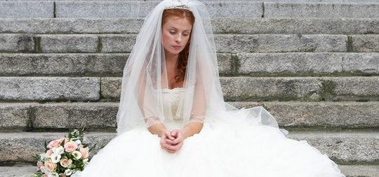 El miedo a no lucir el traje de novia