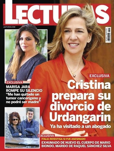 La Infanta Cristina en Lecturas