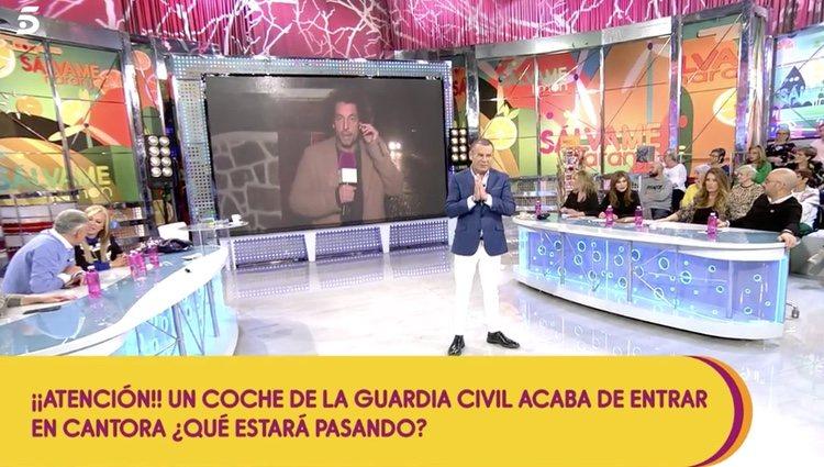 Desde 'Sálvame' se ha conectado en directo con la finca de Isabel Pantoja - Telecinco.es