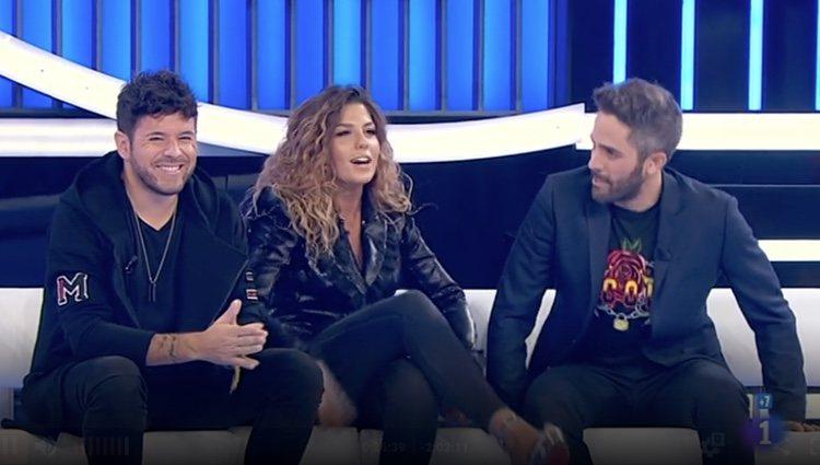 Ambos cantantes acudieron al programa para presentar su nuevo tema juntos / Rtve.es