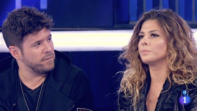 Pablo López y Miriam Rodriguez contaron cómo surgió la composición de su canción - Rtve.es