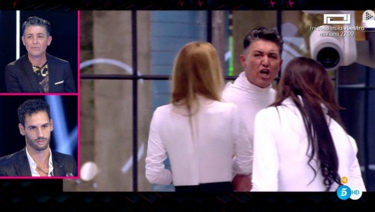 Ángel y Asraf ven el vídeo con todos sus enfrentamientos |telecinco.es