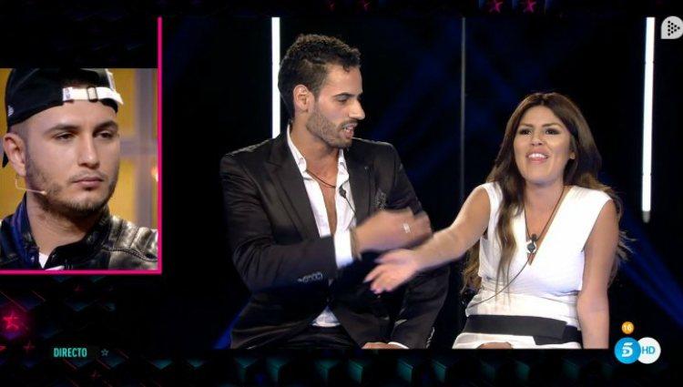 Asraf reconoce que se besó con Chabelita debajo de las sábanas |telecinco.es