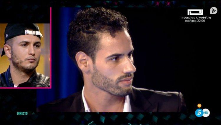 Asraf Beno, muy contrariado ante la versión de Isa que le deja por mentiroso | telecinco.es
