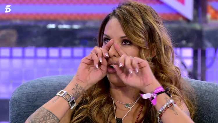 Techi no pudo evitar las lágrimas al confesar su recaída / Telecinco.es
