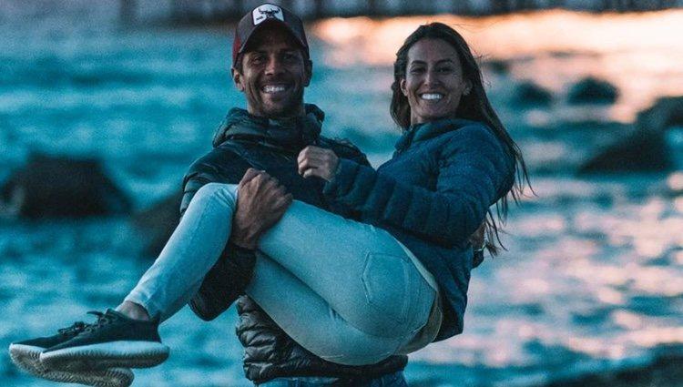 Ana Boyer y Fernando Verdasco agradeciendo las felicitaciones por su futuro bebé / Instagram