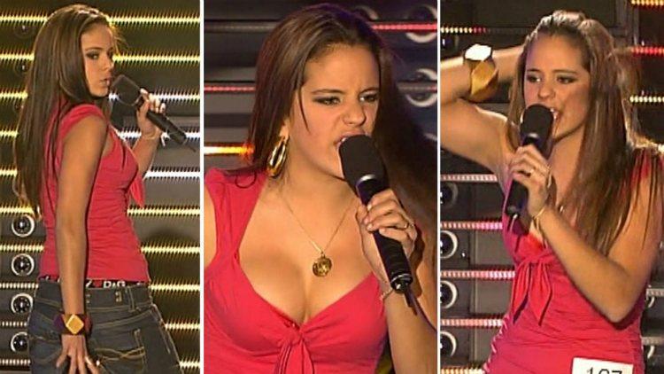 Rosalía Vila cantando y bailando con 15 años en 'Tú sí que vales' | telecinco.es