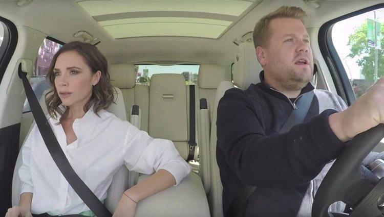 Victoria Beckham en 'Carpool Karaoke' | Foto: CBS.com