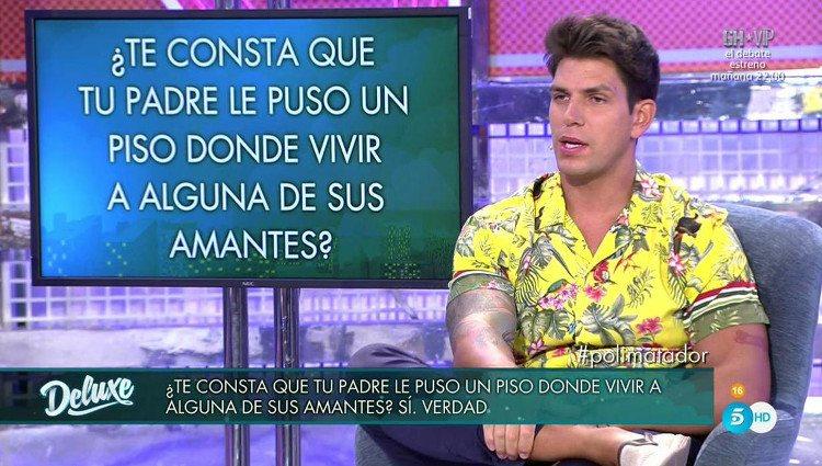 Diego Matamoros en el 'polideluxe' / Telecinco.es