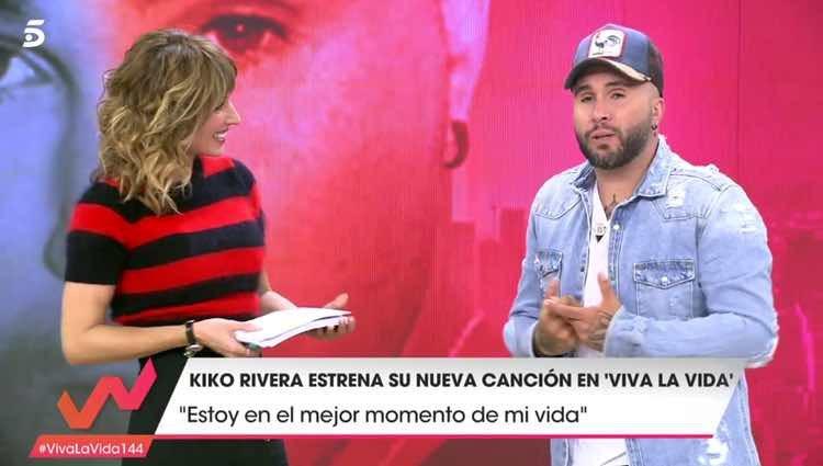 Kiko Rivera hablando de su depresión en 'Viva la vida' / Telecinco.es