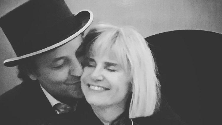Fotografía que Narcís Rebollo ha publicado en Instagram para celebrar su aniversario