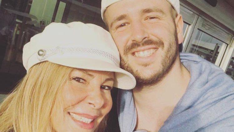 Ana Obregón y Álex Lequio en Estados Unidos/ Foto: Instagram