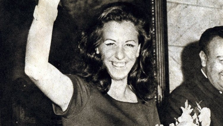 Rita Barberá elegida 'Musa del Humor' en 1973
