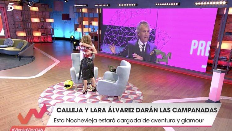 El aventurero ha visitado el programa de Emma García - Telecinco.es