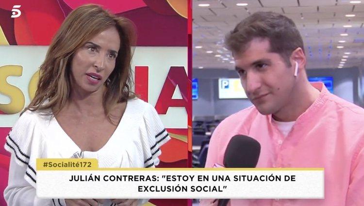 Ambos han protagonizado un pequeño desencuentro provocado por un malentendido - Telecinco.es