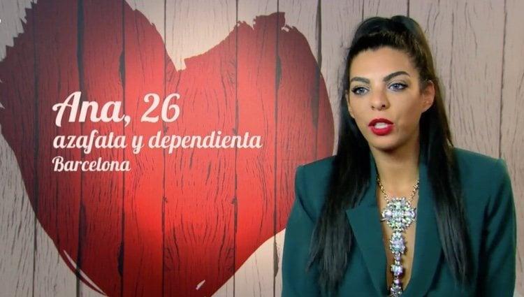 Ana trató de encontrar el amor de nuevo en 'First Dates' / Foto: cuatro.es