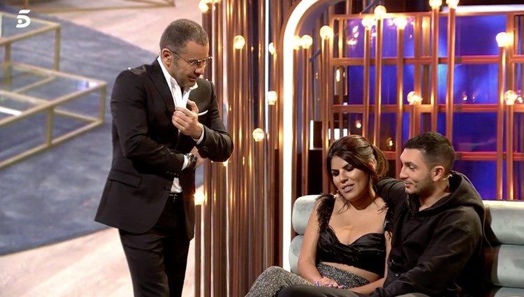 El presentador preguntó a Chabelita Pantoja si estaba embarazada - Telecinco.es