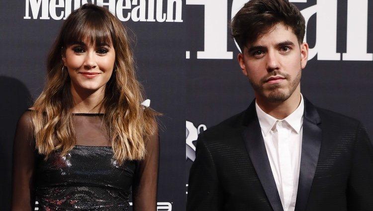 Aitana Ocaña y Roi Méndez en los Premios Men's Health 2018