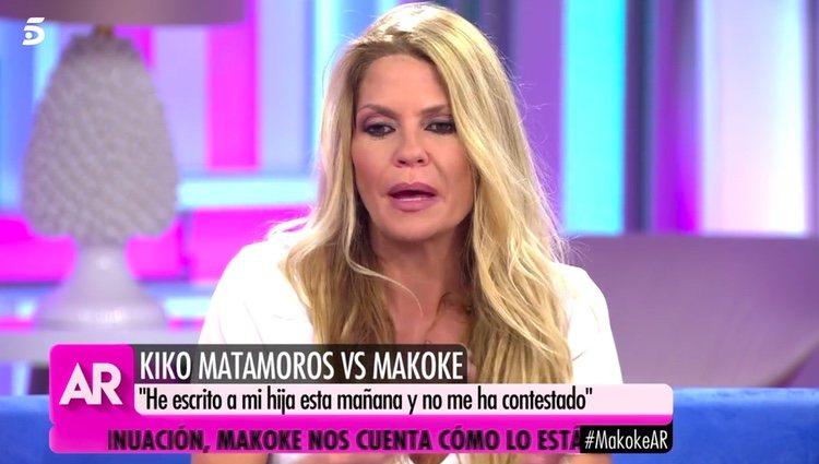 Makoke no quiere hablar de su hija / Telecinco.es