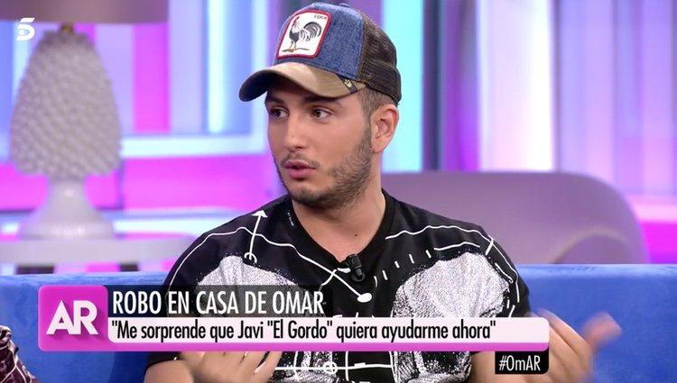Omar Montes en 'El Programa de Ana Rosa'