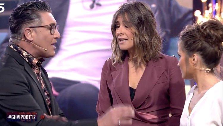 Ángel Garó discutiendo con Verdeliss / Foto: telecinco.es