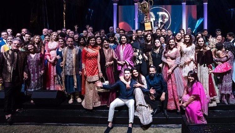 Celebración de la boda de Nick Jonas y Priyanka Chopra / Fuente: @priyankachopra