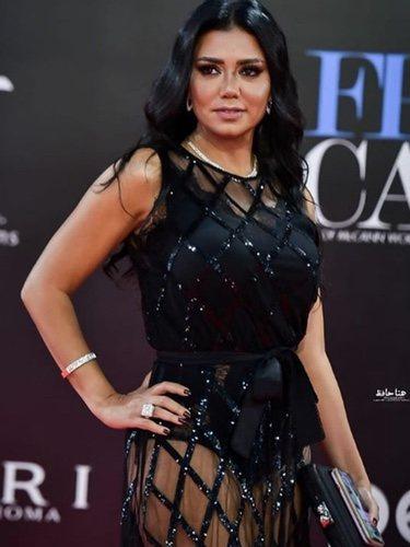 Rania Youssef con el vestido de la polémica | Foto: Instagram