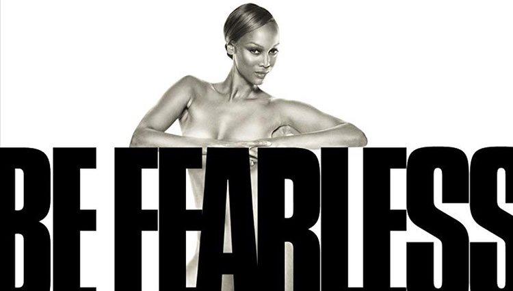 Cartel promocional del programa 'The Tyra Banks Show', que protagoniza la propia modelo