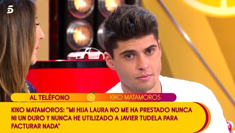 Kiko Matamoros muy enfadado con las palabras de Javier Tudela / Telecinco.es